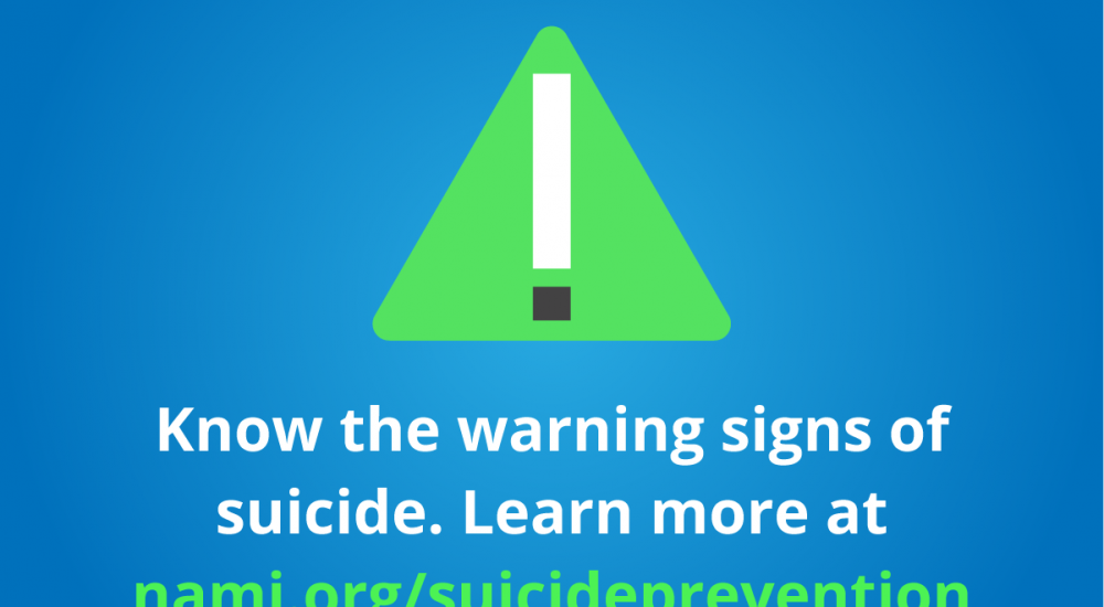 World Suicide Prevention Day and Month